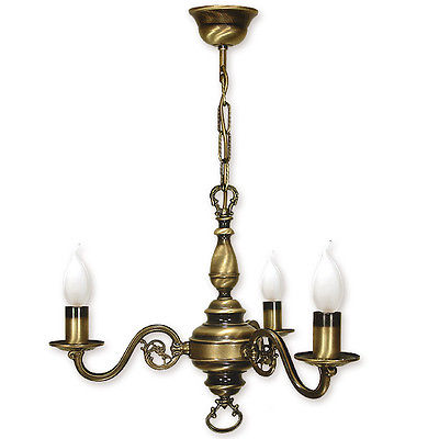Chandelier 3 arms traditional ceiling light antique brass finish chandelier 3 arms traditional ceiling light antique brass finish candle aloadofball Images
