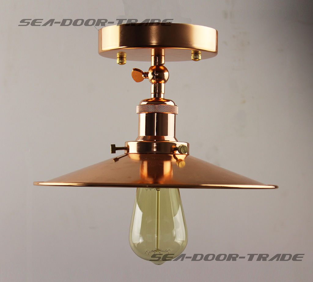 metal shade flush mount pendant light ceiling cheap chandeliers uk