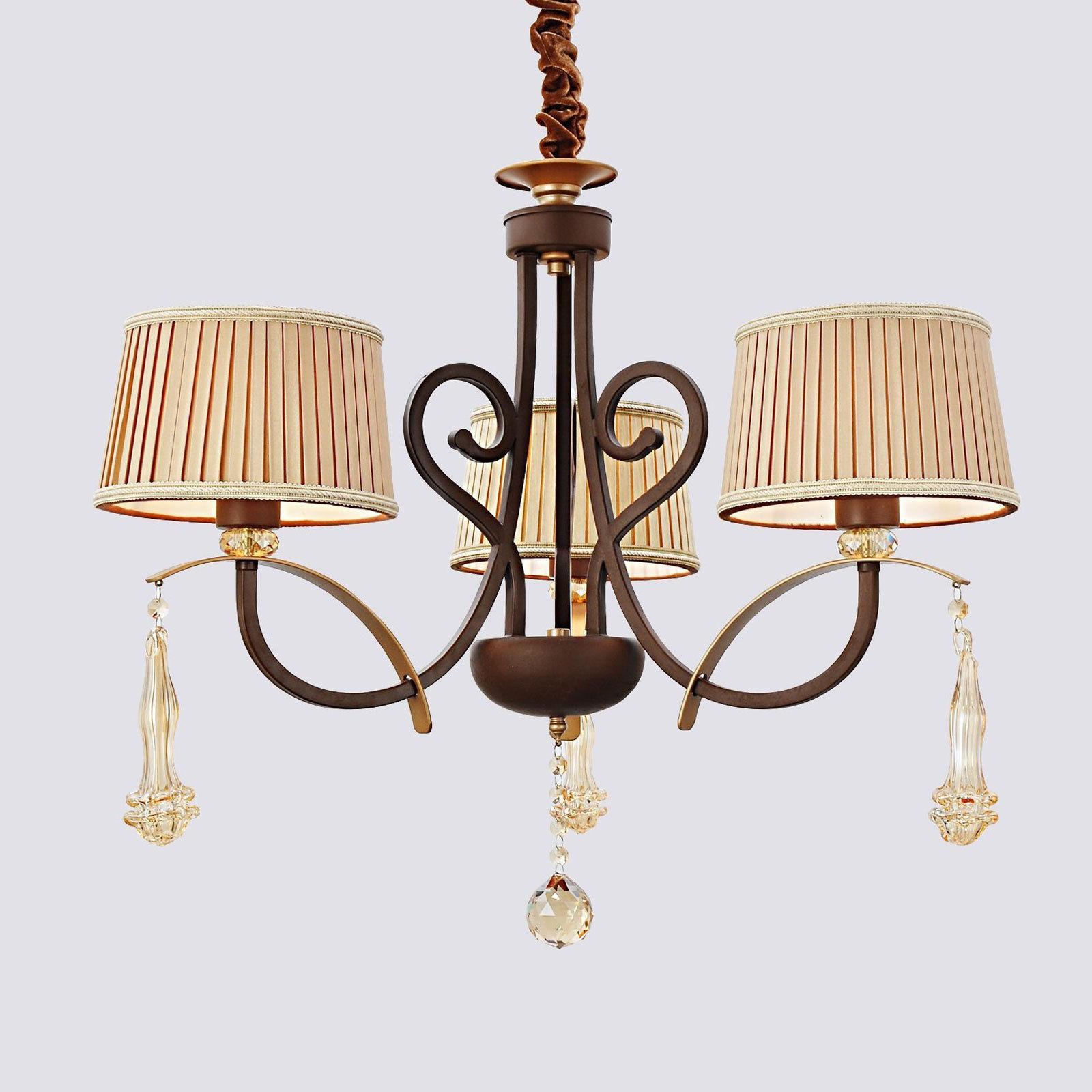 elegant romantic retro lamp shade ceiling cheap chandeliers uk