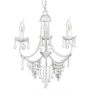 Cheap shabby chic chandeliers shabby chic chandelier uk the alexandra 3 light white chandelier by house of durante shabby chic jewels mozeypictures Images